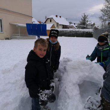 Prvi sneg|Der erste Schnee